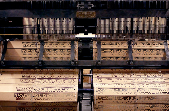 Lace loom, Caudry, France
