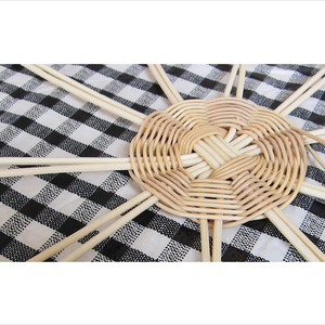 Inpiration from basket weaving techniques