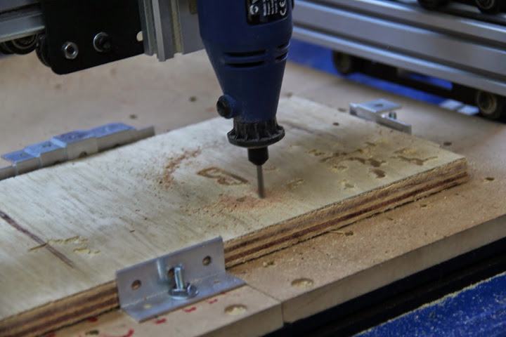 C.N.C milling with a ShapeOko